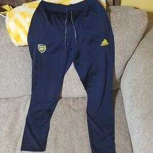 pair of Adidas Arsenal Pants